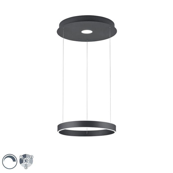 """Dizaino-pakabinama-lempa-antracito-su-LED-3-pakopų-pritemdoma---""""Jeroen"""""""