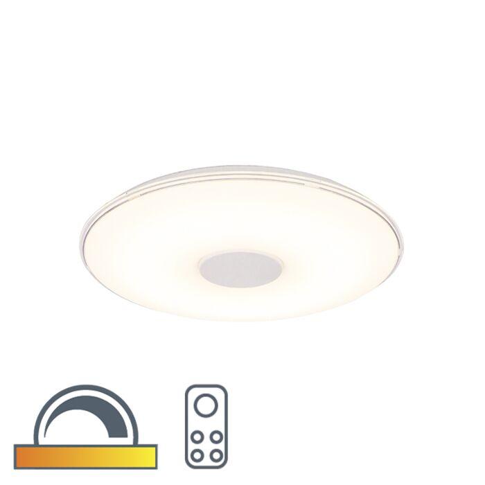 Apvali-lubų-lempa-su-šviesos-diodo-apšvietimu-į-šiltą-nuotolinį-valdymą---Seulas