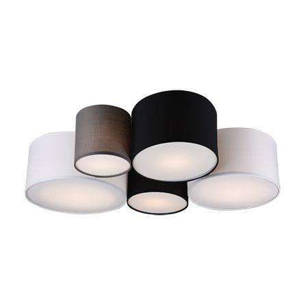 """Dizaino-lubinė-lempa-daugiaspalvė-5-šviesų---""""Sectos"""""""