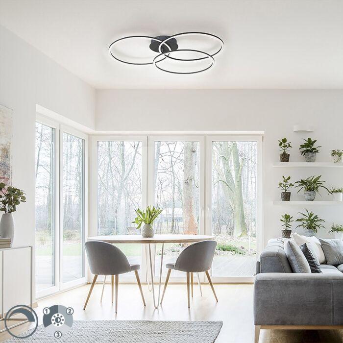 Juodoji-lubų-lempa-su-LED-3-pakopų-pritemdoma-3-lempučių---Julka