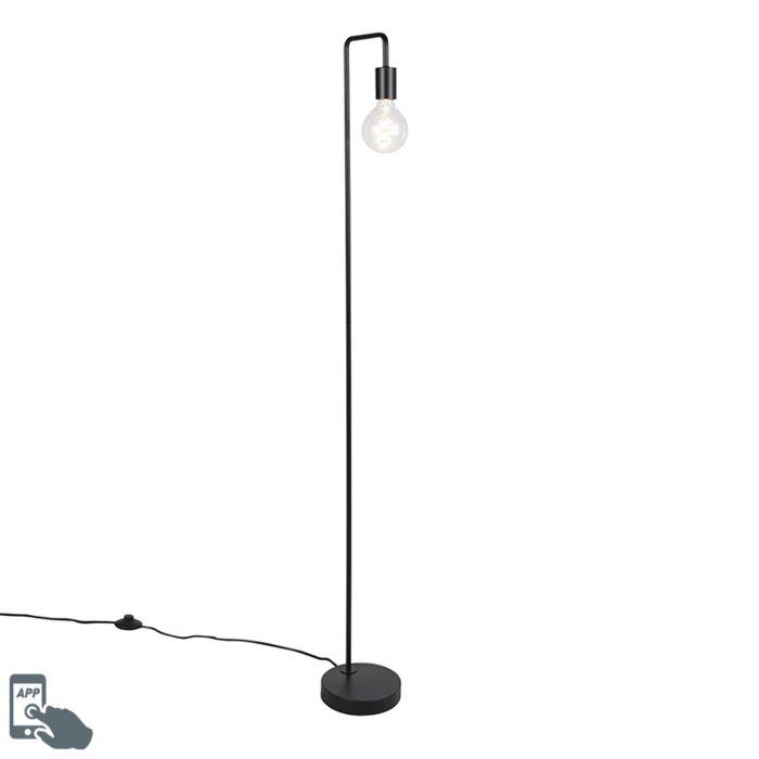 "Išmani-grindų-lempa-juoda,-įskaitant-""WiFi-G125""---""Facil"""