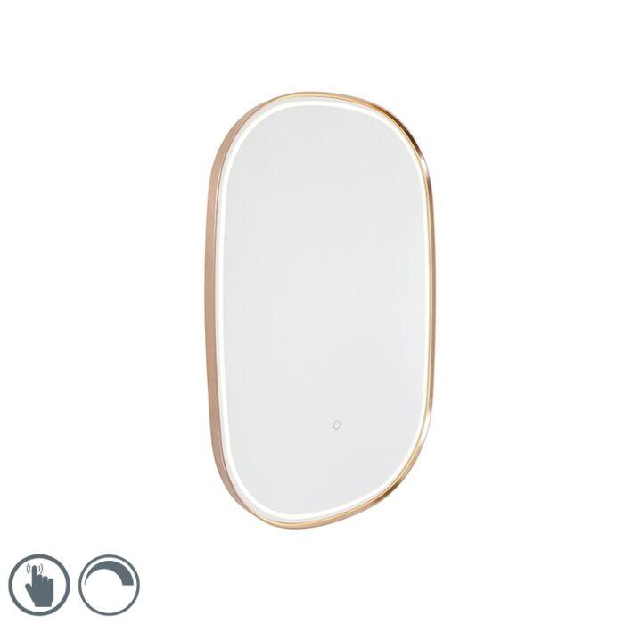 "Vonios-veidrodis-su-variu,-įskaitant-šviesos-diodą-su-ovaliu-prisilietimo-reguliatoriumi---""Miral"""