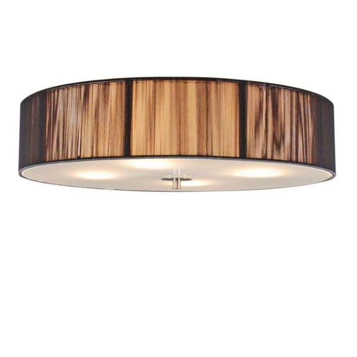 Klasikinis-lubinis-šviestuvas-antracitas-50-cm---virvė