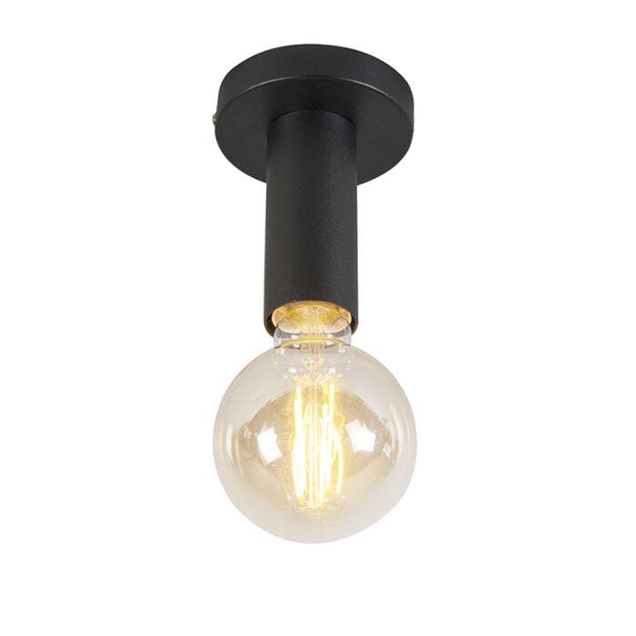 """Šiuolaikinė-lubų-lempa-juoda---""""Facil-1"""""""
