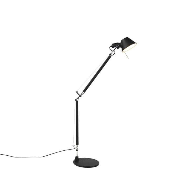 Stalo-lempa-reguliuojama-juoda---Artemide-Tolomeo-Tavolo