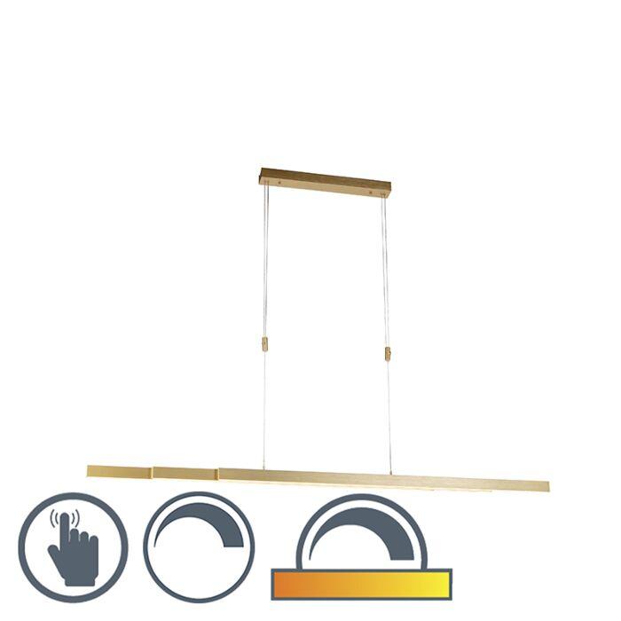 Reguliuojamas-pakabinamas-šviestuvas-žalvaris-nuo-silpno-iki-šilto,-įskaitant-LED---Džuljeta