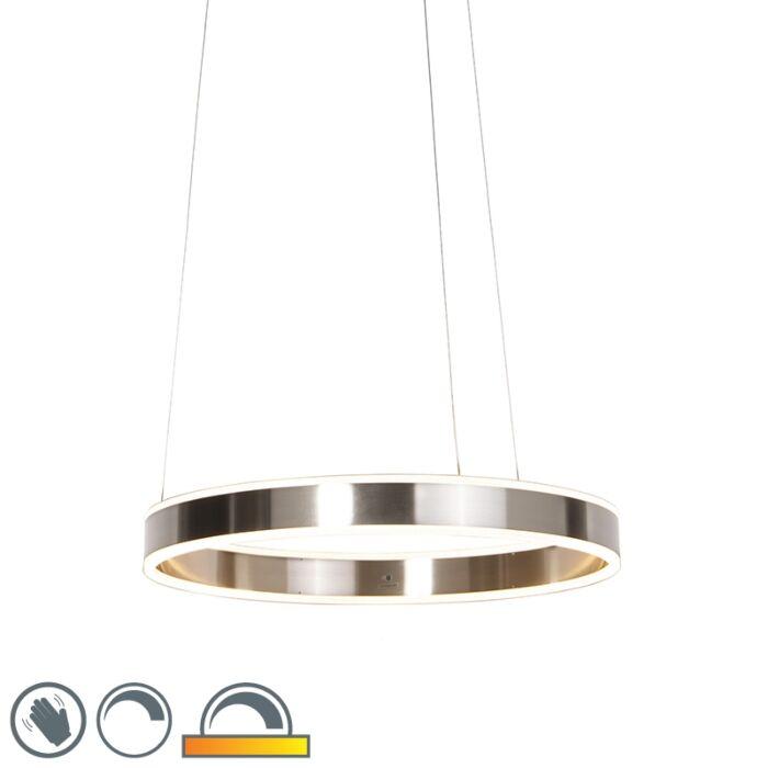 Šiuolaikinis-pakabinamas-šviestuvo-plienas-su-LED-60-cm-nuo-šviesos-iki-šilto---Ollie