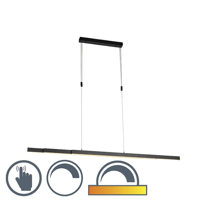 Reguliuojamas-pakabinamas-šviestuvas-nuo-antracito-pritemdytas-iki-šilto,-įskaitant-LED---Džuljeta